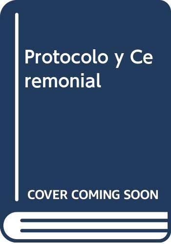 9789508521439: Protocolo y Ceremonial