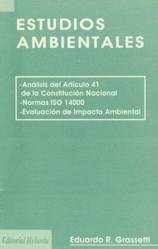 9789508850232: Estudios ambientales