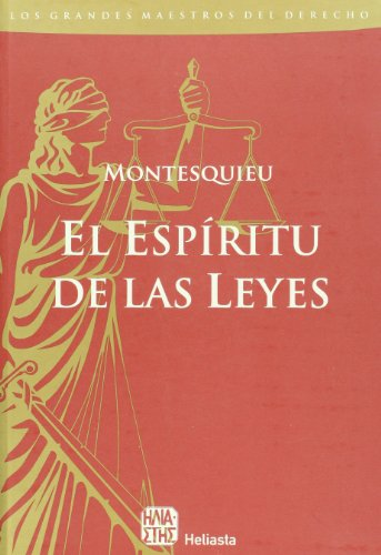 9789508850577: del Espiritu de las Leyes (Grandes Maestros del Derecho)