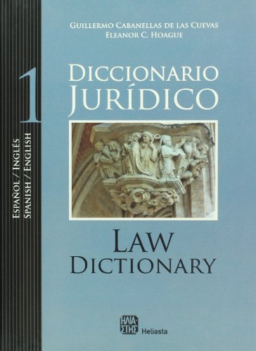 9789508851185: Diccionario juridico ingles-espanol / espanol -ingles (Spanish Edition)