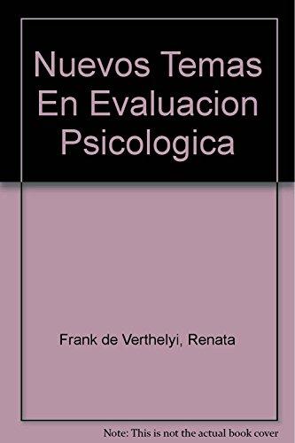 9789508920737: Nuevos Temas En Evaluacion Psicologica