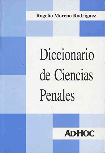 9789508942517: Diccionario de Ciencias Penales: Intervinculado / Dictionary of Criminal Sciences