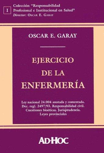 9789508944771: Ejercicio de La Enfermeria (Coleccion) (Spanish Edition)