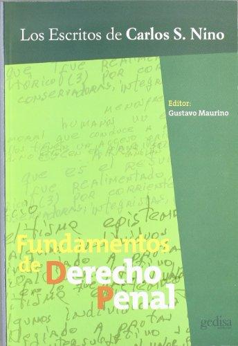 FUNDAMENTOS DE DERECHO PENAL (Paperback)