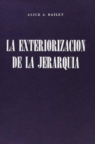 9789509127104: La exteriorizacion de jerarquia / Externalizing hierarchy (Spanish Edition)