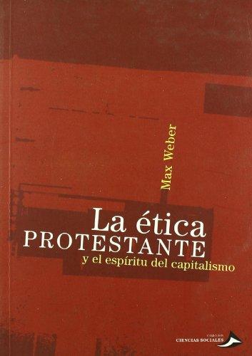 9789509217331: La etica protestante y el espiritudel capitalismo