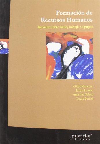 9789509217942: Formacion de Recursos Humanos (Spanish Edition)