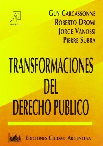 9789509385191: Transformaciones del Derecho Publico (Spanish Edition)