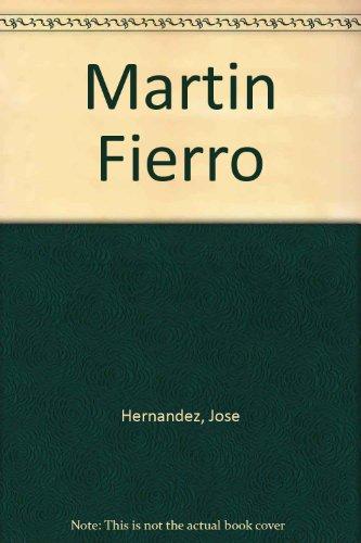 9789509534032: Martin Fierro