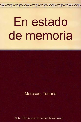 9789509540224: En estado de memoria (Spanish Edition)