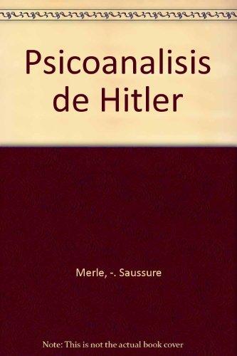 9789509546431: Psicoanalisis de Hitler
