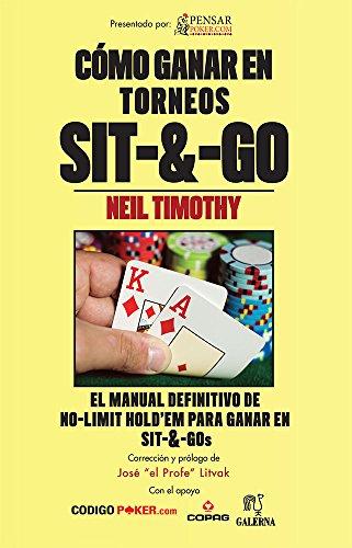 9789509823075: Cómo ganar en torneos Sit&Go