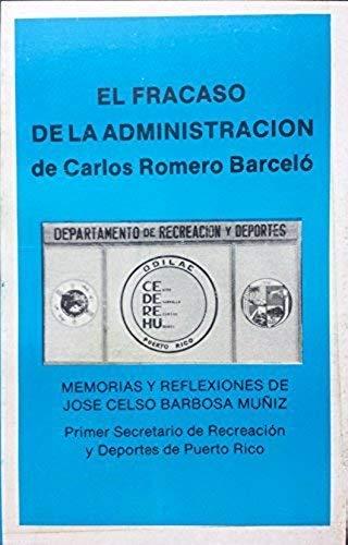 El Fracaso De La Administracion De Carlos: jose muniz