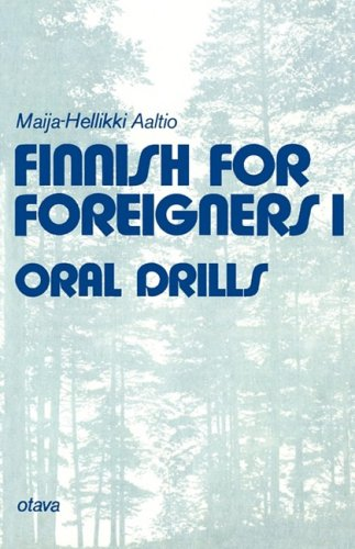 Finnish for Foreigners 1 - Oral Drills.