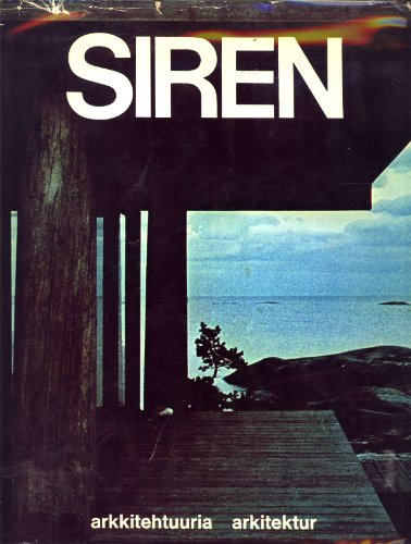 9789511041559: Kaija + Heikki Siren: Arkkitehdit = Arkitekter