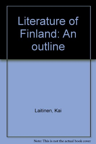 9789511131878: Literature of Finland: An outline