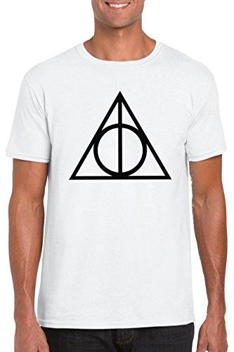 9789512045907: Deathly Hallows - Harry Potter Parody T-shirt - Vinyl Printed T-shirt