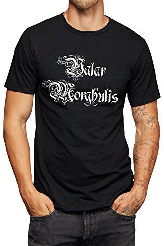 9789512062645: Valar Morghulis T-shirt - All men must die - Game of Thrones Inspired - Vinyl Printed T-shirt