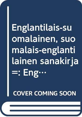 9789513027889: Englantilais-suomalainen, suomalais-englantilainen sanakirja =: English-Finnish, Finnish-English dictionary (Berlitz pocket dictionaries for travellers) (Finnish Edition)