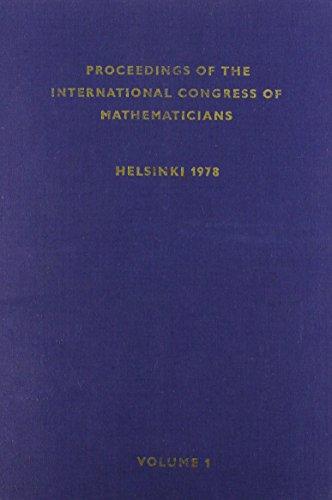 9789514103520: Proceedings of the International Congress of Mathematicians, 1978, Helsinki. TWO VOLUMES