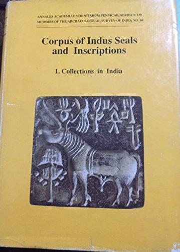 Corpus of Indus Seals and Inscriptions: Volume: Jagat Pati Joshi
