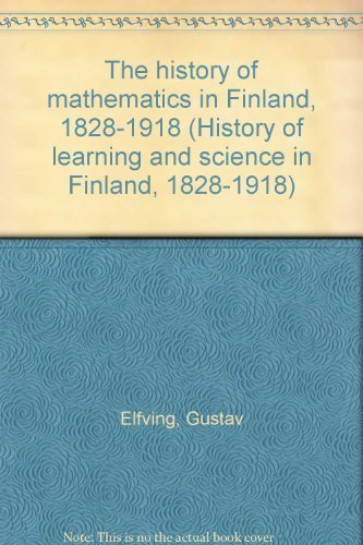 history of mathematics in finland 1828 1918