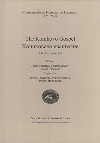 The Konikovo Gospel: Lindstedt, Jouko / Spasov, Ljudmil / Nuorluoto