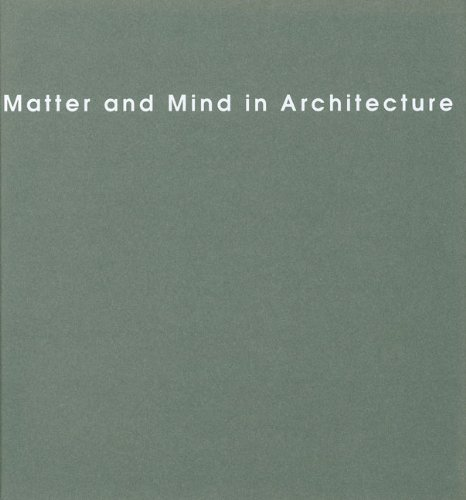 9789516826076: Matter and Mind in Architecture