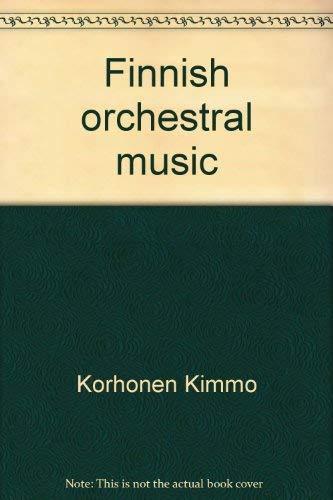 9789516923607: Finnish orchestral music 2
