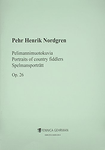 Portraits of Country Fiddlers, Op. 26: For String Orchestra (Paperback)