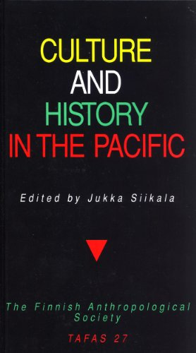 Culture and history in the Pacific (Transactions of the Finnish Anthropological Society 27)