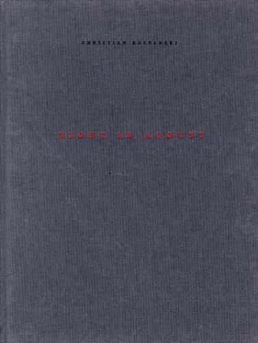 Christian Boltanski : Elokuun Yö, Augustinatt, Night in August. 22.8. - 4.10. 1998: Boltanski,...