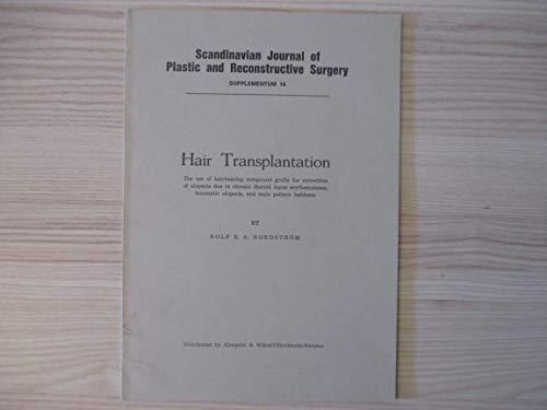 9789519907239: Hair transplantation (Scandinavian journal of plastic and reconstructive surgery : Suppl)