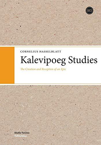 Kalevipoeg Studies: Cornelius Hasselblatt