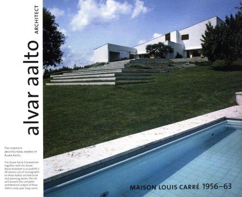 9789525498066: Alvar Aalto Architect - Maison Louis Carre 1956-63, Vol.20
