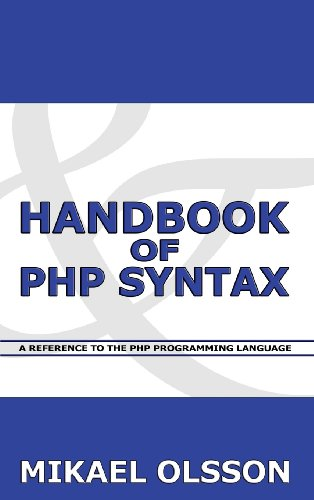 9789526790541: Handbook of PHP Syntax: A Reference to the PHP Programming Language