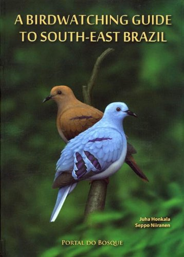 9789529271924: A Birdwatching Guide to South-east Brazil
