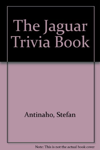 9789529919093: The Jaguar Trivia Book