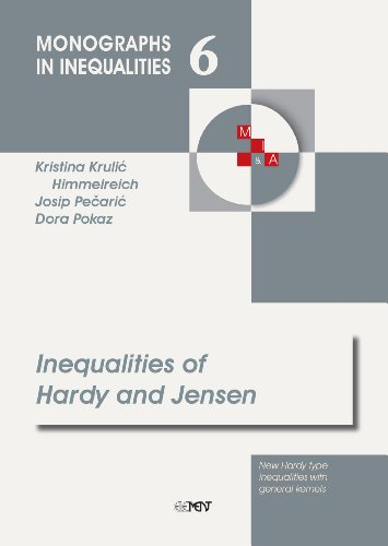 9789531975827: Inequalities of Hardy and Jensen (New Hardy type inequalities with general kernels) (Monographs in Inequalities)