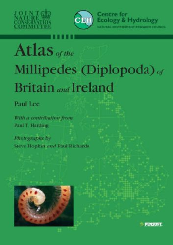 9789546422774: Atlas of the Millipedes (Diplopoda) of Britain and Ireland (Pensoft Series Faunistica)