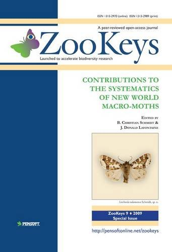 9789546424853: Contributions to the Systematics of New World Macro-moths (ZooKeys)