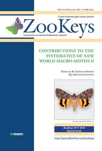 9789546425362: Contributions to the Systematics of New World Macro-moths (Zookeys)