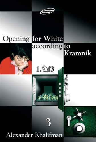 Opening for White according to Kramnik 1.Nf3, Volume 3 (Repertoire Books) (9548782200) by Alexander Khalifman