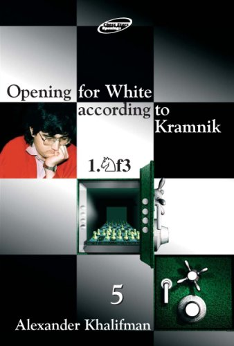 Opening for White according to Kramnik 1.Nf3, Volume 5 (Repertoire Books) (9548782243) by Alexander Khalifman