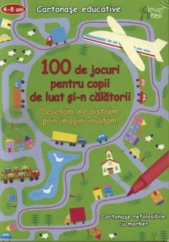 9789549749199: 100 de jocuri pentru copii de luat si-n calatorii