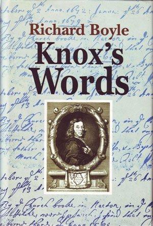 9789559170679: Knox's Words
