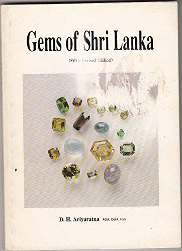 9789559549406: GEMS OF SHRI LANKA. (SIGNED).