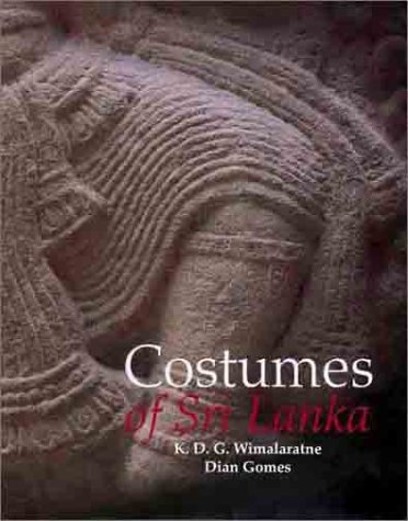 9789559764601: Costumes of Sri Lanka