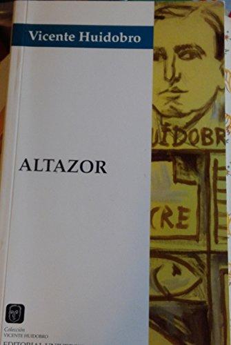 9789561107939: Altazor - Vincente Huidobro