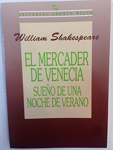 Mercader de Venecia, El (Spanish Edition): Shakespeare, William